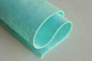 Wool Felt Alluring Aqua 1