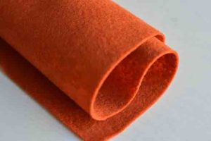 Wool Felt Copper