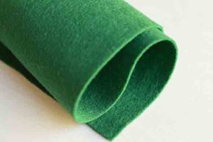 Wool Felt Hunter Green