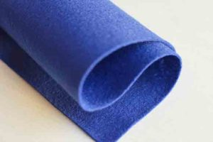 Wool Felt Royal Blue 1
